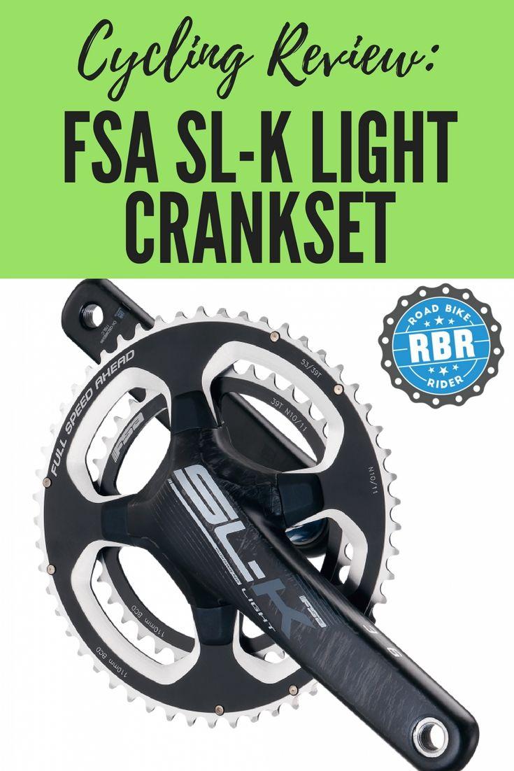 Fsa Sl K Light Crankset Review Best Road Bike Bike Rider Road