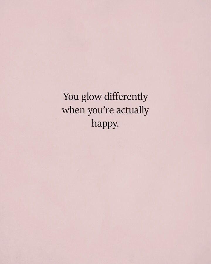 Embrace your glow! #beyou #behappy #positivity #positivevibes #motivation