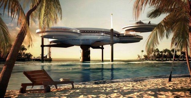 A Dubai il disco-hotel sottomarino per notti da favola [FOTO]   My Luxury