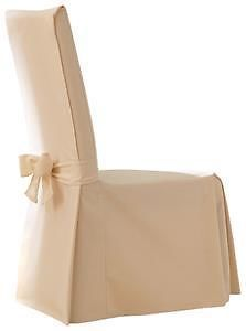 Sure Fit Cotton Duck Full Dining Room Chair Cover
