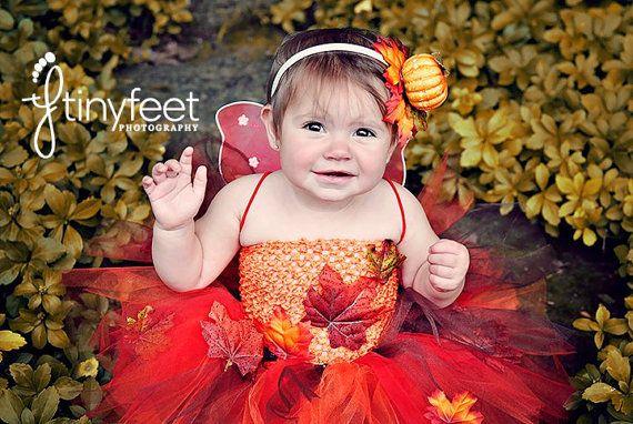 Fall Fairy, Autumn Fairy, Tutu Boutique, Baby Girl Halloween Costume, Fairy Tutu Dress, Fall Tutu, Orange Tutu Dress, Halloween Costume on Etsy, $48.00