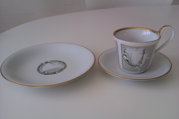 Danish Porcelain From Royal Copenhagen design by Jette Frölich