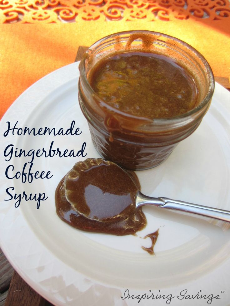 Fall is in the air and it will soon be in your coffee too. Try out this delicious gingerbread coffee syrup today