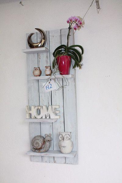 Vintage Regale - Wandregal Palettenmöbel Küchenregal Board - ein Designerstück von shabby-home-factory bei DaWanda
