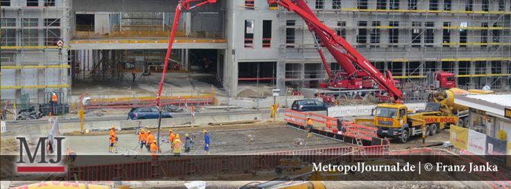 (NM) NeuerMarkt in Neumarkt – Deckplatte für Passage am Unteren Tor wurde betoniert - http://metropoljournal.de/?p=8772
