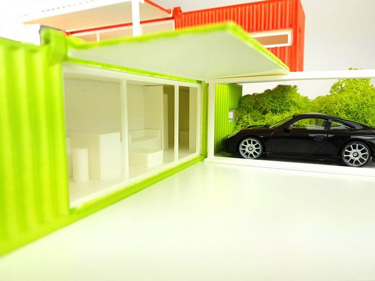 Trasformazione di container in casa, ufficio, bar, bungalow, infopoint, hotel