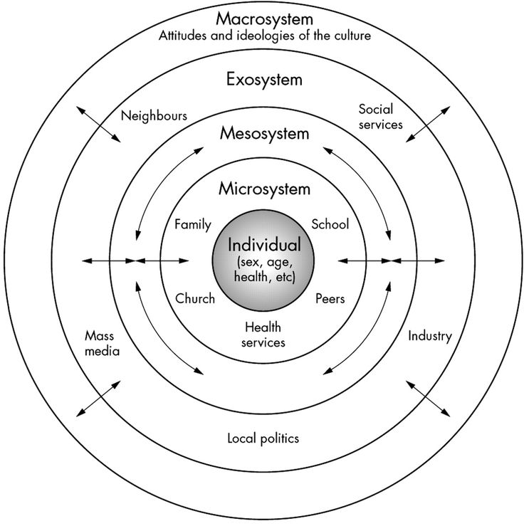 bronfenbrenners ecological model Theorist)-bronfenbrenner:) urie%bronfenbrenner%describes%his%bio%ecological%theory%as%resembling%russian%nesting%dolls%%each%aspect%of.
