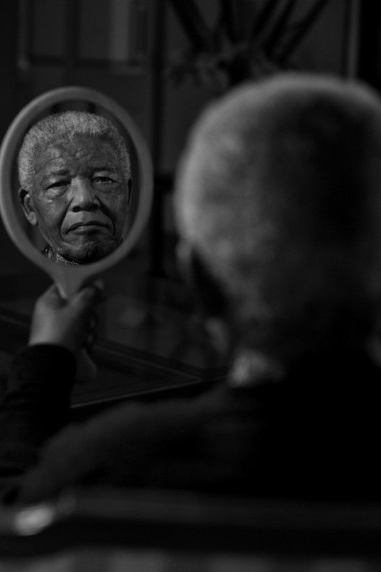 Nelson Mandela 'A Reflection of Dignity' by Adrian Steirn @21 Icons South Africa