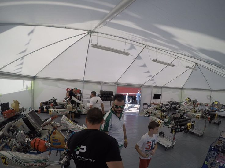 PRT Motorsport Kart racing team in action at PICK PATRAS 2017