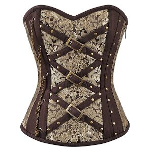 Tracy Brocade Steampunk Corset