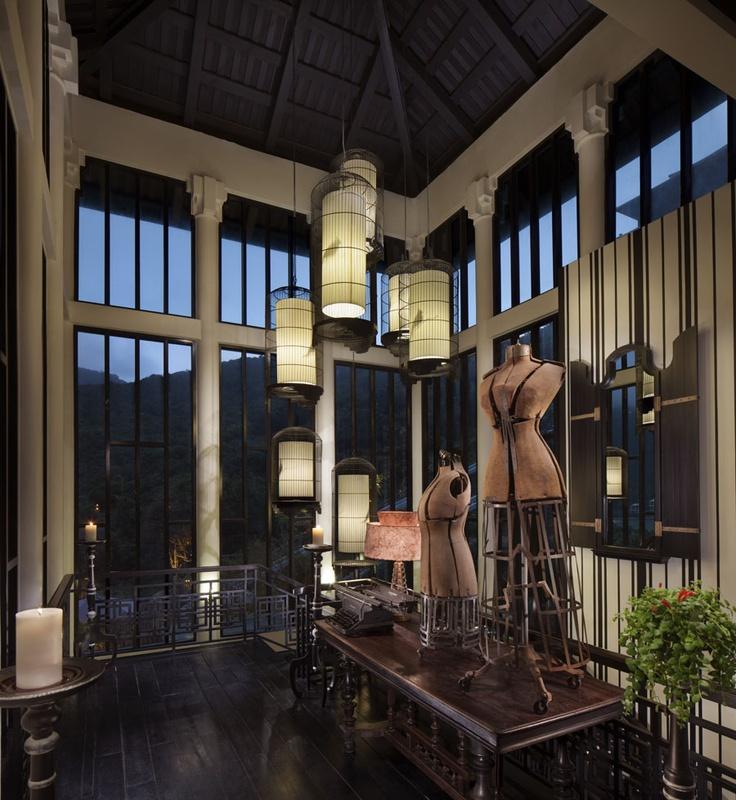 La Maison 1888 - Staircase.  InterContinental Danang Sun Peninsula Resort | Danang,Vietnam
