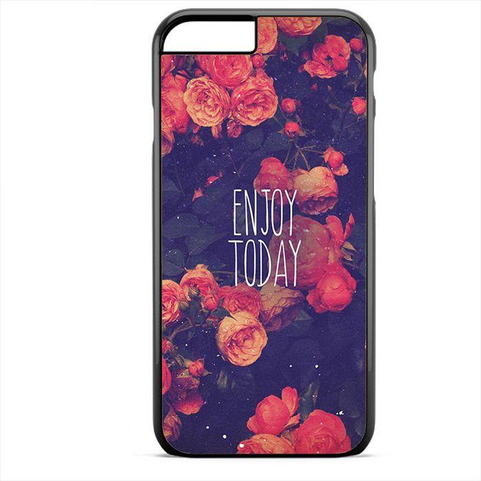 Genießen Sie bis zum Tag Floral TATUM-3968 Apple Phonecase Cover für Iphone SE Case
