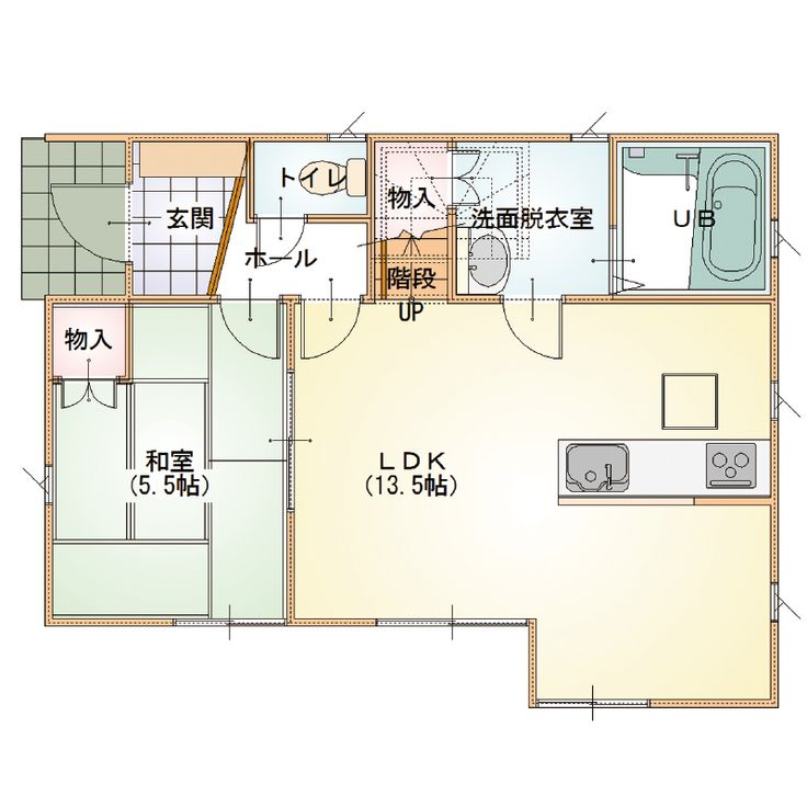 999A-Class-04 - 間取り|ローコスト住宅|デザインハウス郡山|株式会社アイビーホーム