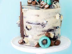 Mud Cake with Cookies, Mocha & Baileys