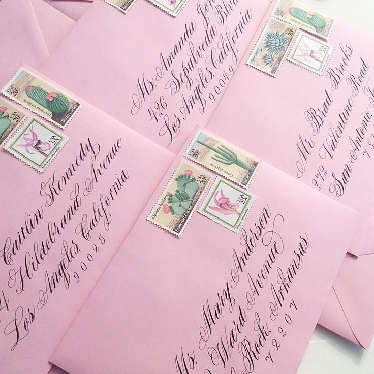 256 best Calligraphy Envelope Inspiration images on Pinterest - new letter envelope address format canada
