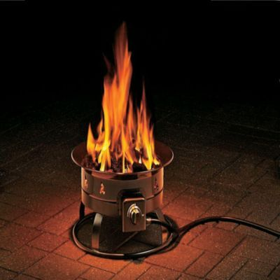 Gather your friends around the Outland Fire Bowl and treat them to an inviting, warming, smoke-free evening around a fire.  Available:  Fire Bowl, Cover/Carry Kit.