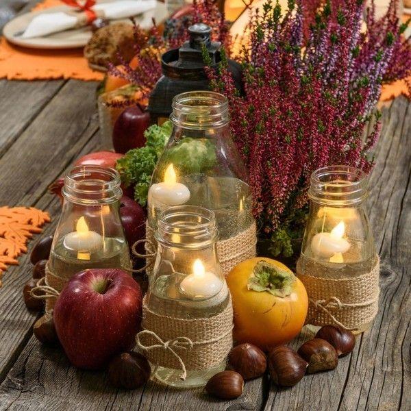 Herbstdeko Aus Naturmaterialien Selber Machen 33 Tolle Und