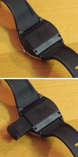 USB flash drive & watch..super spy stuff :) I'd never lose my USB again.