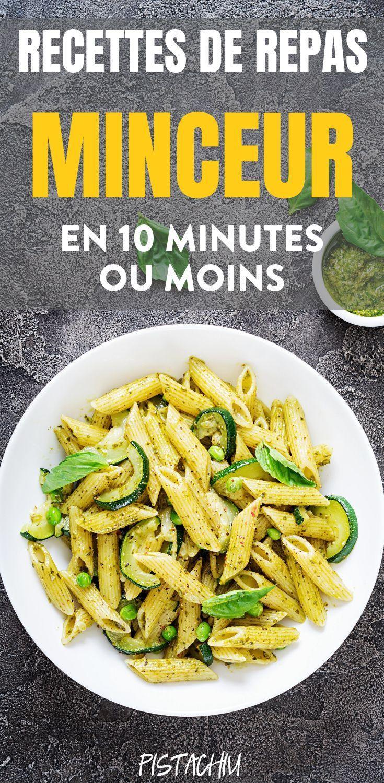 Idée Repas Minceur Recettes de Repas Minceur en 10 minutes (Ou Moins | Recette repas