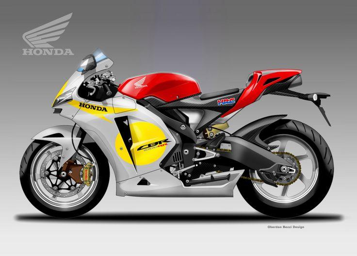 Design Corner - Honda CBR 1000 RR by Oberdan Bezzi