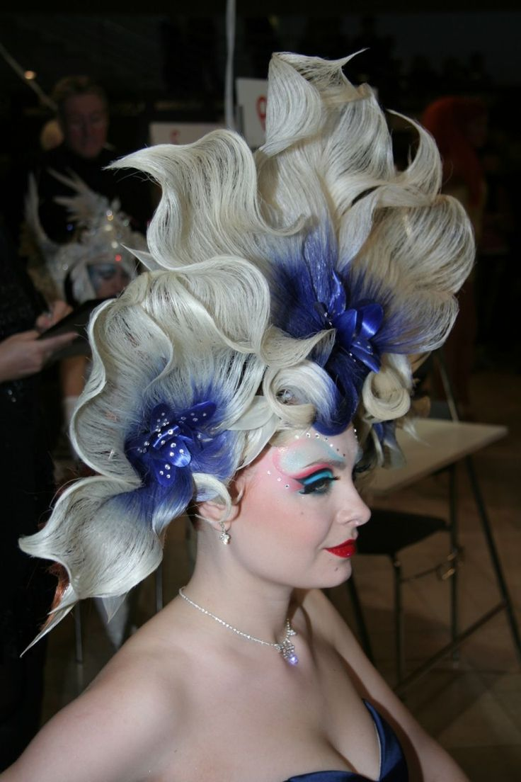 Some Pictures Of Fantasy Hairstyles Will Give You Inspiration ...                                                                                                                                                                                 More