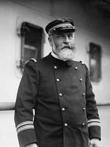 Vintage Sea Captain Photograph Shows Captain John Weller