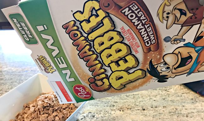 Post Cinnamon Pebbles Cereal – yum! #ad #cereal #breakfast