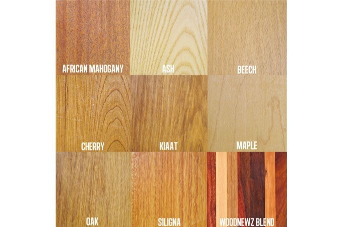 Board Wood Options