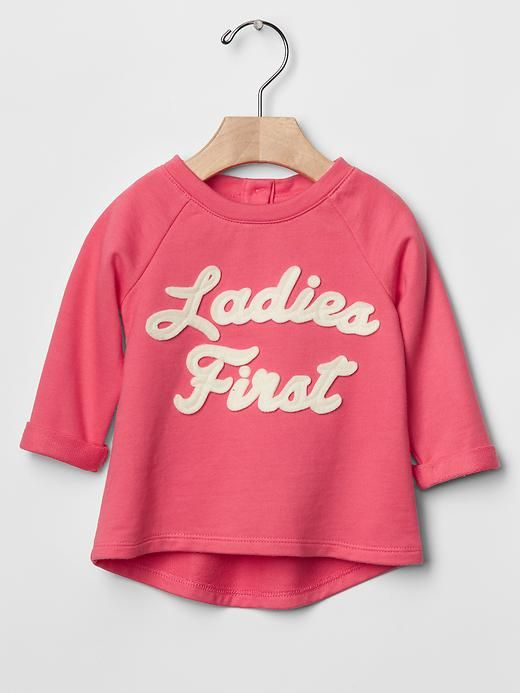 Ladies first sweatshirt Product Image