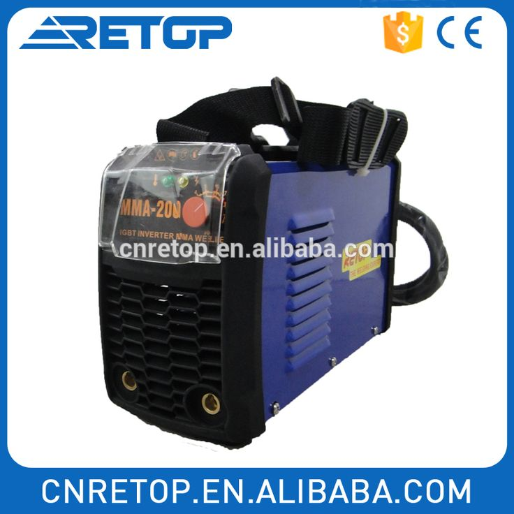 mini single phase arc inverter welding machine mma200
