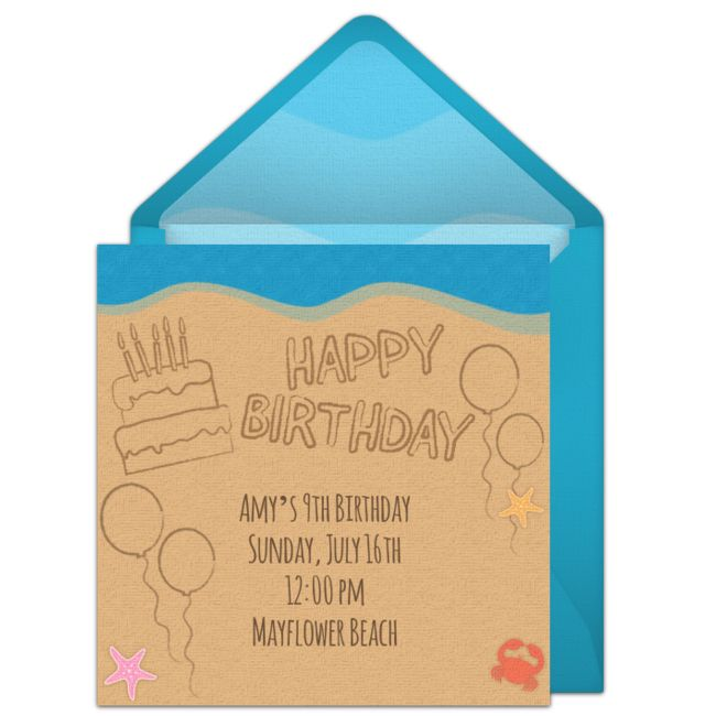 885 best Girl Birthday Ideas images – Punchbowl Birthday Invitations