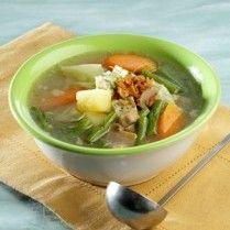 SUP ANEKA SAYURAN http://www.sajiansedap.com/mobile/detail/18775/sup-aneka-sayuran