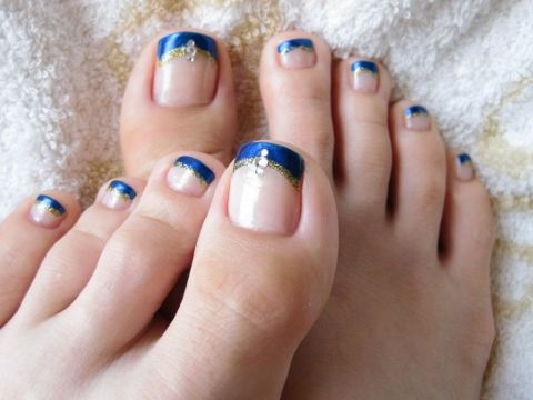 The Trendiest Toe Nail Designs for Summer - Make sure your feet look  fabulous by sporting - Best 25+ Cute Pedicures Ideas On Pinterest Cute Toenail Designs