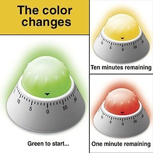 Color Alert Timer. There are so many things that this could be used for.  Elementary students?  Yup.
