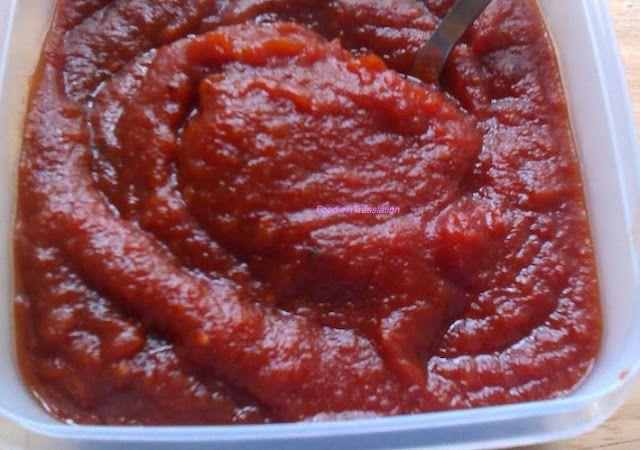 Foodie in Translation: Ketchup homemade