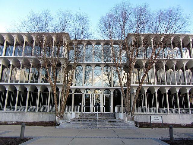 Irwin Library at Butler University by Minoru Yamasaki by puroticorico, via Flickr