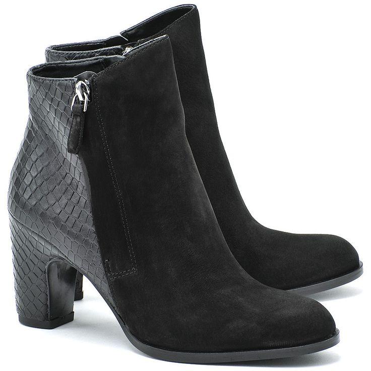 Women's Ankle Boots For Sale ECCO Solbjerg Black/Black Women 35082351052 Online Sales
