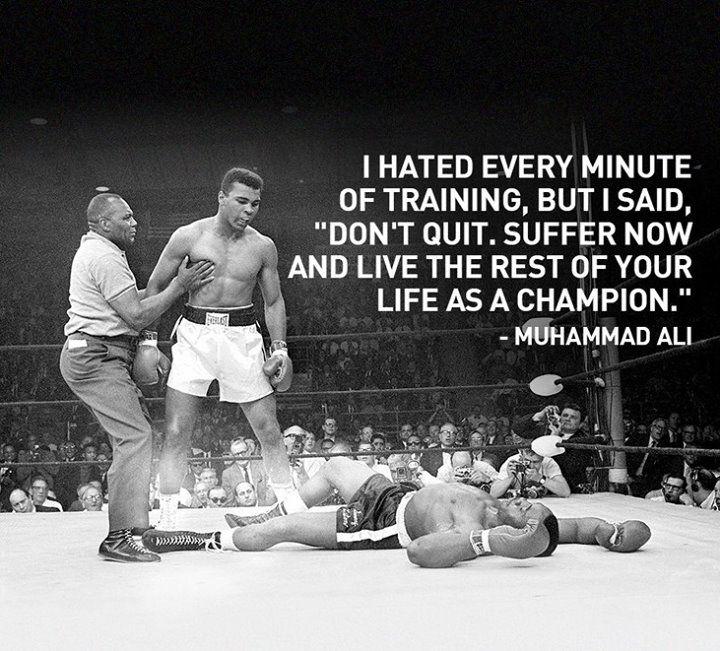 Muhammad Ali. The real Champ.