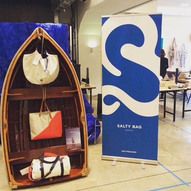 Salty Bag display at Greek Brand New