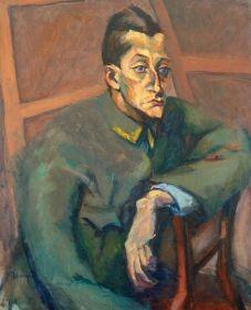 Tihanyi Lajos - Grósz Andor portréja, 1915