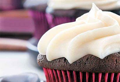 cupcake triple chocolat