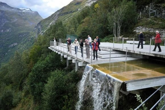 Ornesvingen Viewing Platform - Noruega 2  http://top10mais.org/
