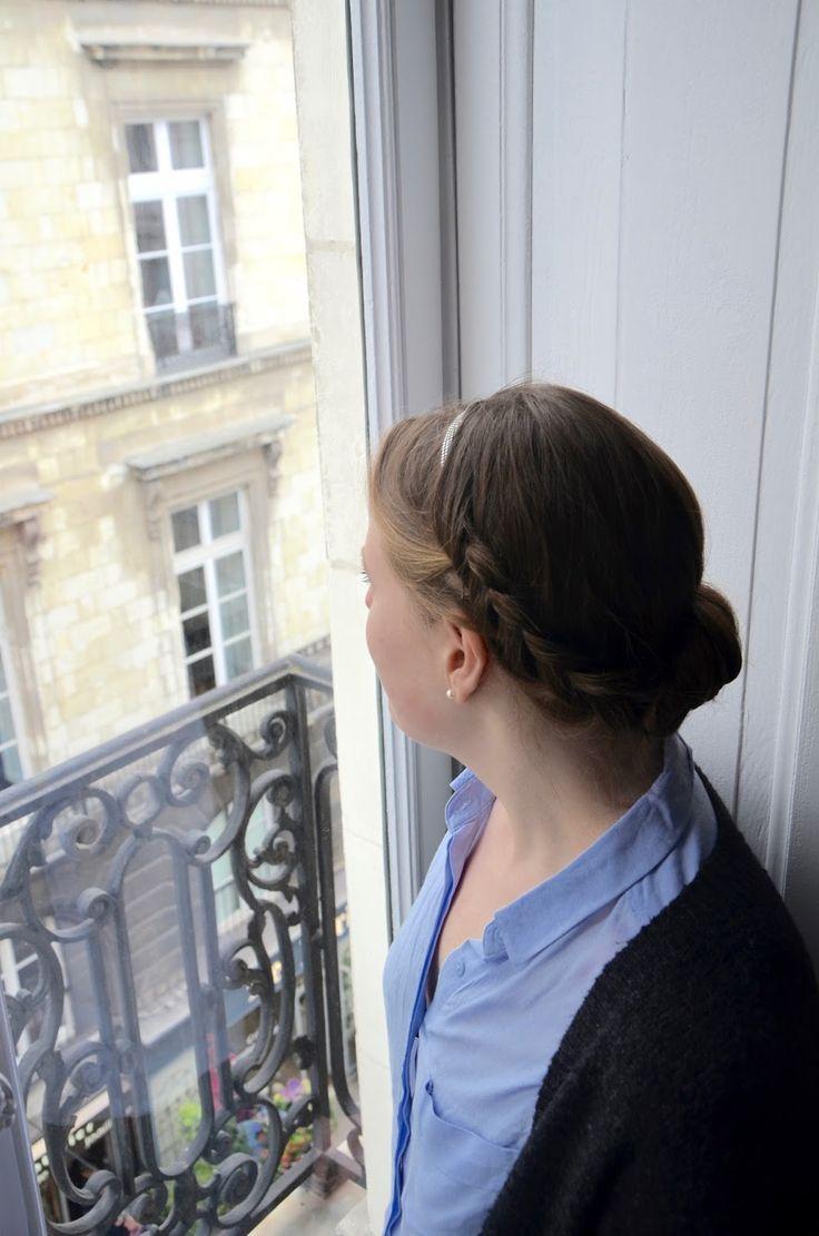 35 best coifures avec un headband images on pinterest - Coiffure avec headband ...
