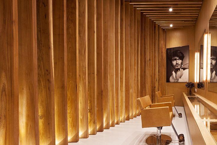 Bernardes Arquitetura: Salão de beleza C. Kamura, Rio de Janeiro