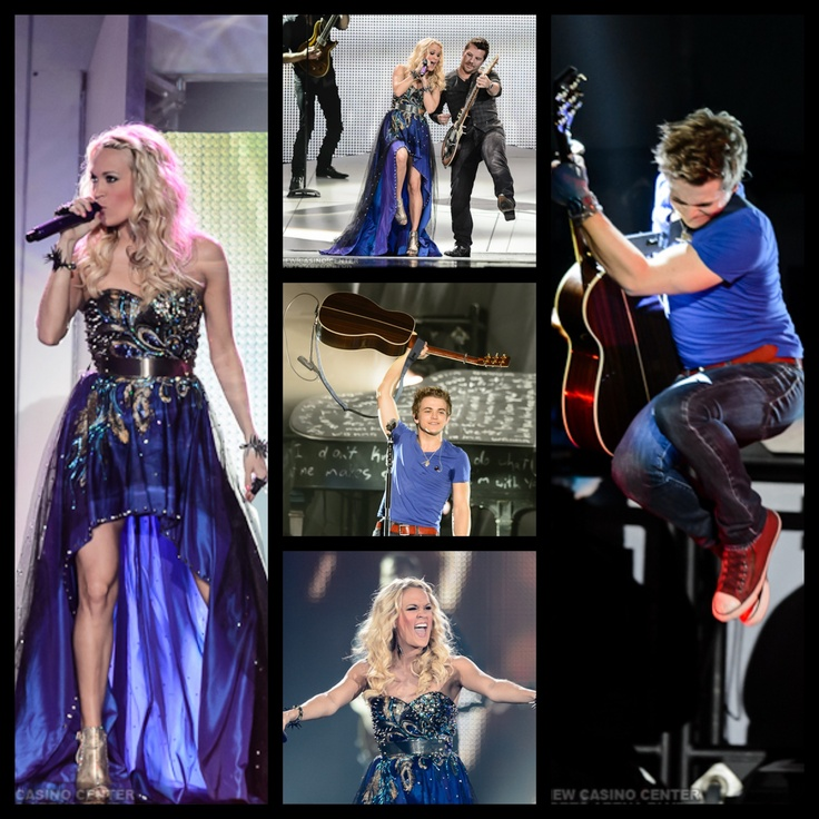 Carrie Underwood Blown Away Tour. Opening act Hunter Hayes! His jump>>>>>>
