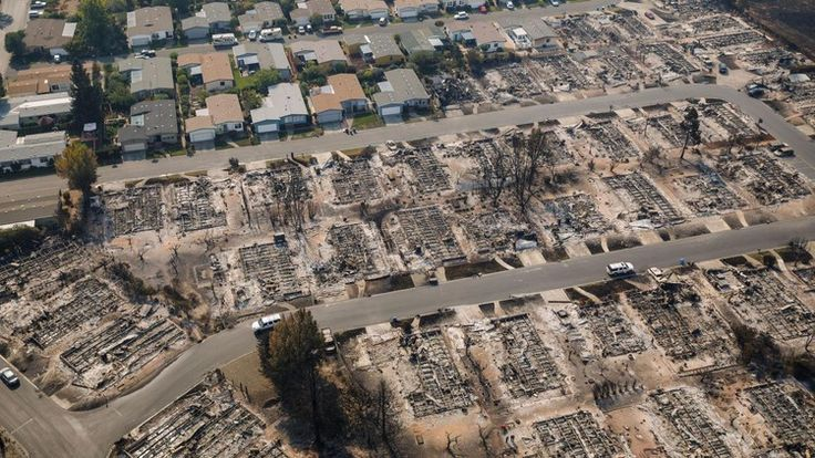 Despite clear risks, Santa Rosa neighborhood that burned down was exempt from fire regulations