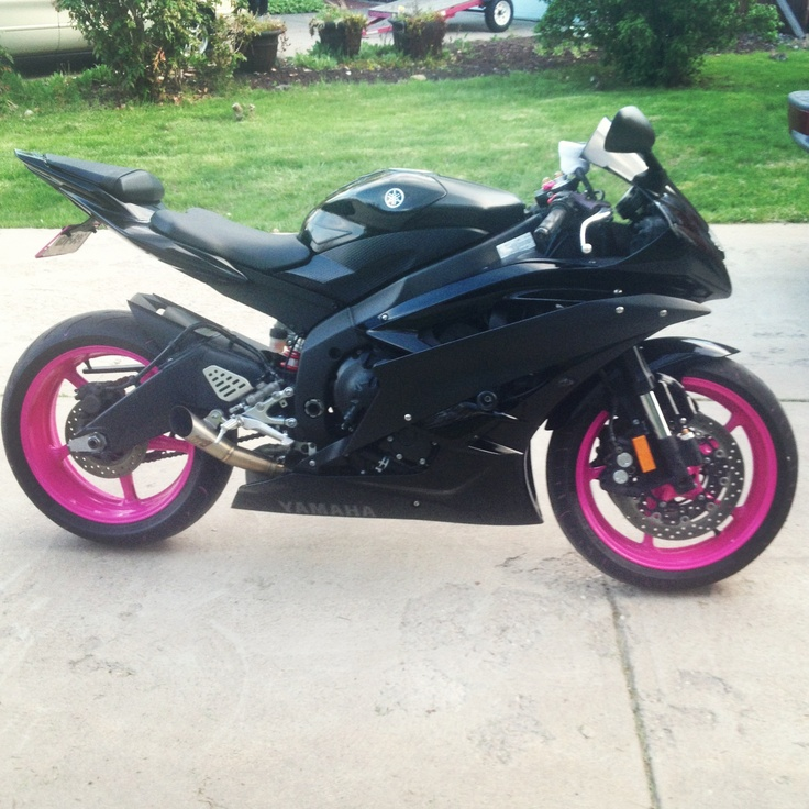 Pink Yamaha R6 | Motor...