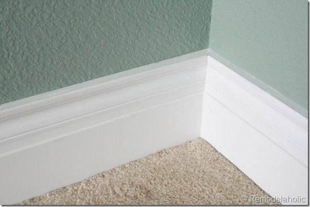 How To Caulk Moldings Baseboard Greige Paint And