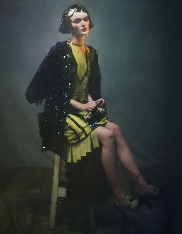 Sam Rollinson: How To Spend It, February '12  Current Fashion influenced by the 1920's