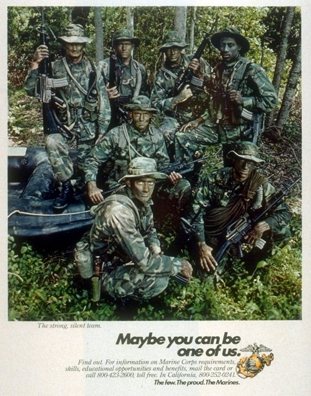 "The Few. The Proud. The Marines. 2nd Marine Recon Battalion Camp Schwab, Okinawa Japan, ""Semper Fi"""